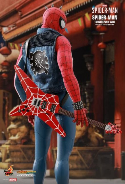Hot Toys 1:6 Marvel's Spiderman Punk Suit